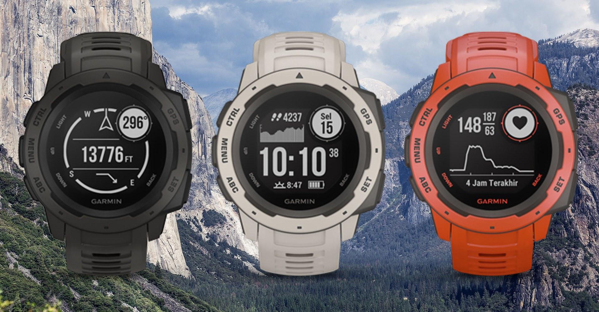 Garmin Instinct GPS Watch Review