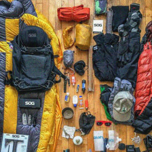 MOUNTAINEERING, HIKING & CAMPING